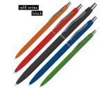 Schlanker, gummierter Kugelschreiber
